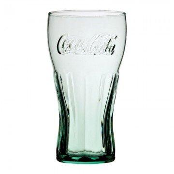 Utopia Lot de 1 – Coca Cola 453,6 Gram (45cl) de Style géorgien en Verre Vert – renforcé