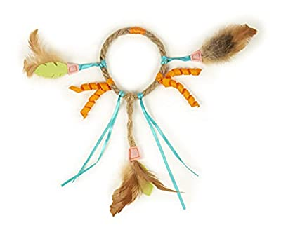 SmartyKat Dream Dangler, Jute and Feather Door Dangler, Interactive Cat Toy, Dangle and Toss with Ribbons from WORLDWISE INC