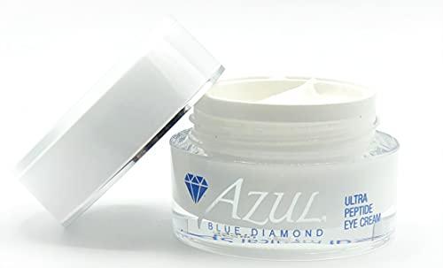 Azul Ultra Peptide Eye Cream | Advanced Anti-Aging Eye Treatment With Aloe And Jojoba To Ease Eye Bags, Dark Circles And Fine Lines | 0.5 Fl Oz