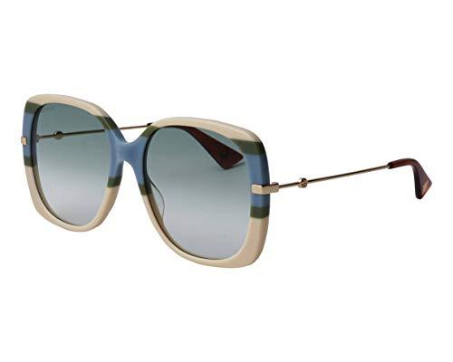 Gucci GG-0511-S 007 - Gafas de sol, color azul y verde degradado