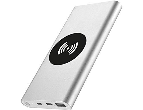 Batería Externa portátil de 8000 mAh con inducción