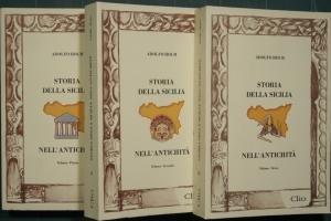 STORIA DELLA SICILIA NELL' ANTICHITA' - 3 VOLUMI