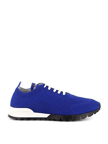 Kiton Luxury Fashion Uomo USSFITN0060914002 Blu Cotone Sneakers | Primavera-Estate 20