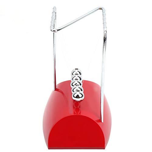 Mxzzand Juguete de Ciencia de plástico, Juguete de Bola equilibrada, Bolas de Columpio en Forma de N, decoración de Bolas Columpio