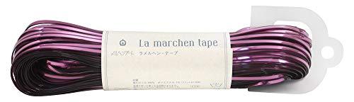メルヘンアート ラ メルヘン・テープ 3mm 150g 約50m Col.166 ルビー 1玉