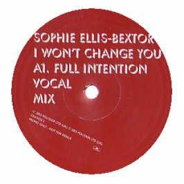 SOPHIE ELLIS BEXTOR / I WONT CHANGE YOU