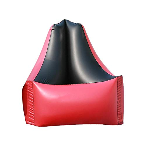 Aufblasbares Sofa Aufblasbare Klappgarten Sofas wasserdicht faltbar verdickt faul Sofa Camping Schlaftaschen Air Bed Adult Beach Lounge Stuhl A