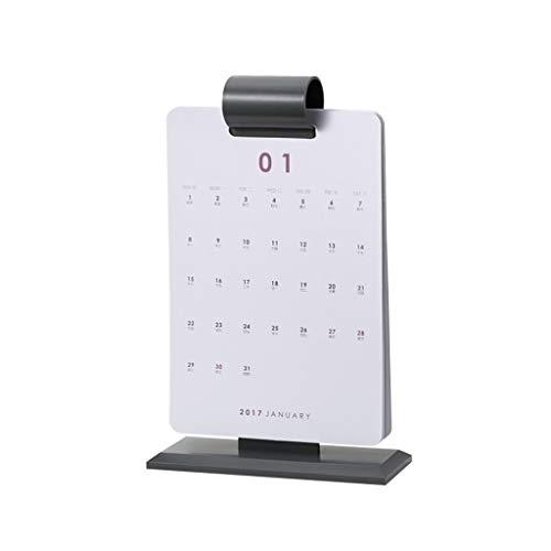 Calendario De Sobremesa/Calendario de Pared Enero Calendario 2020 for diciembre de 2020 Bolsillos Calendario mensual y Las tareas Pendientes Calendario Familiar (Color : Black)