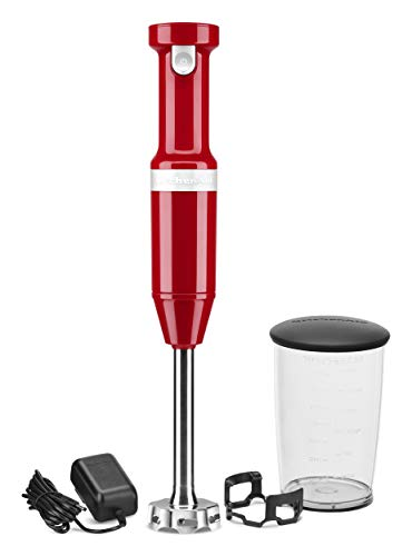 KitchenAid Variable-Speed Cordless Hand Blender - Empire Red