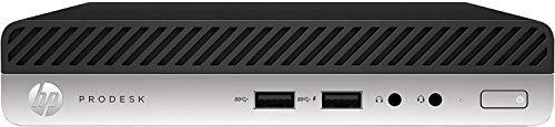 HP ProDesk 400 G3 Desktop Mini 3,2-GHz-Prozessor, 16 GB DDR4, 256 GB Solid-State-Laufwerk, drahtloses Dualband 11AC und Bluetooth 4.2, Windows 10 Pro-Plain-Box