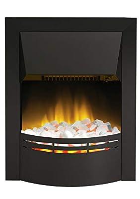 Dimplex Dakota Contemporary Inset Electric Fire, 2 kW, Black