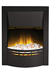 Electric Fire Reviews Dimplex Dakota with black surround