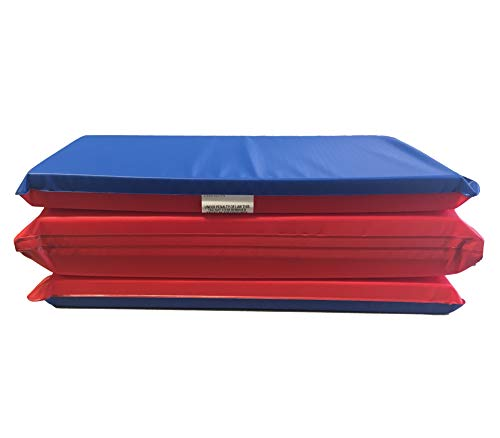 KinderMat KM-150 Children's Rest Mat, Red/Blue