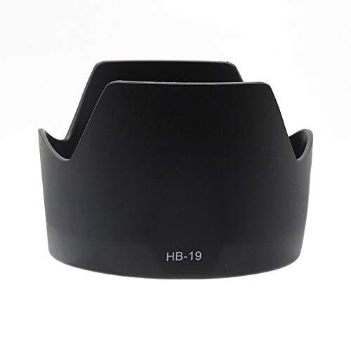 HB-19 - Parasol para objetivo compatible con Nikon 28-70 mm f/2.8 D AF-S