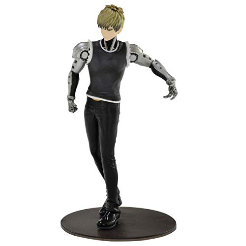Figure Bandai Banpresto One Punch Man Dxf Premiuim Figure- Genos Ref. 34978/34979 Multicor