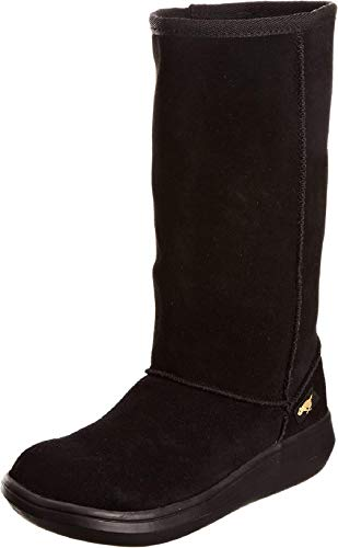 Rocket Dog Sugardaddy, Botas Planas Mujer, Negro (Black), Numeric_38 EU