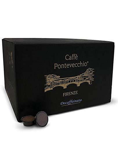 Caffè Pontevecchio Firenze Cápsulas de café Compatible Lavazza® A Modo Mio® (Calidad Descafeinado)