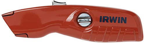 IRWIN Utility Knife, Self-Retracting for Safety (2088600)