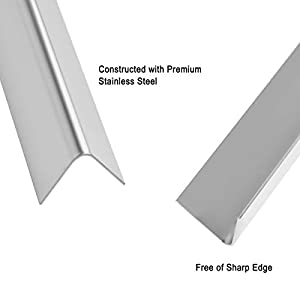 Stanbroil Stainless Steel Flavorizer Bars for Weber Summit 400 Series Summit E/S 450/440/460/470 Gas Grills With a Smoker Box, Replacement Parts for Weber 67668, 8 PCS