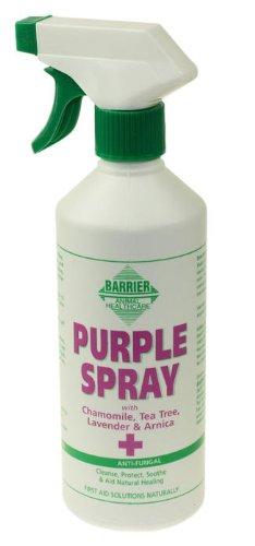 Barriera Viola Spray (500ml), antibatterico, Antimicotico, Antivirale Spray per ferite, tagli, abrasioni Bites etc.