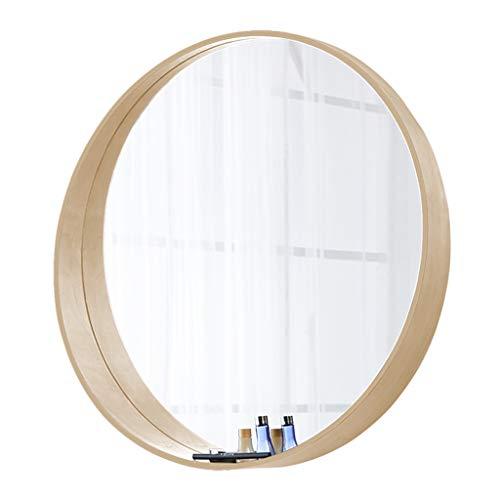 Espejo de baño 60 cm de diámetro, Montado en la Pared, Esp