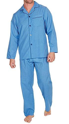 Pijama para hombre de polialgodón con insignia, de corte cl