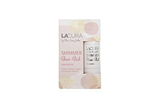 LACURA by Clea-Lacy Juhn Shimmer Shine Stick Farbe: Coral Dream Inhalt: 6,3g Blush Stick für frische Akzente