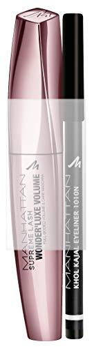 Manhattan Supreme Lash Wonder'luxe Volume Mascara + GRATIS Khol Kajal, limitiertes Set für den...