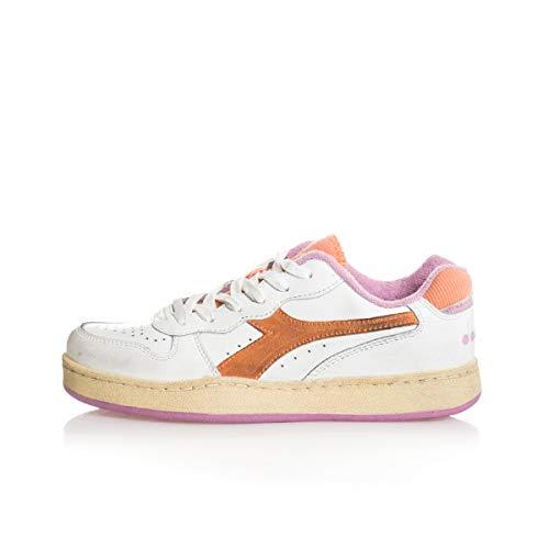 Diadora - Sneakers Mi Basket Low Used Wn per Donna (EU 39)