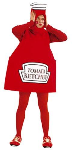 Cesar - Disfraz Ketchup B349, Talla 52/54
