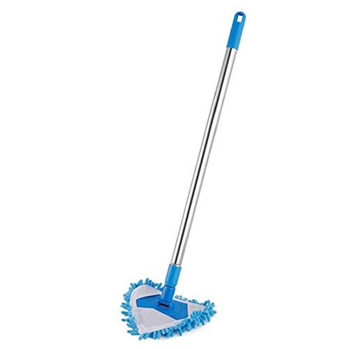 NIDONE Mop vloer schoonmaken tool muur verstelbare uitbreiding 180 graden roterende telescopische handvat stofzuiger…
