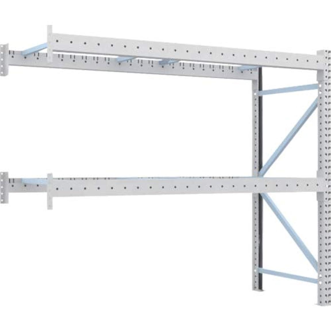 発明するマガジン徴収トラスコ中山 (TRUSCO)  重量パレット棚2トン2300×900×H2000連結 2段 2D20B23092B