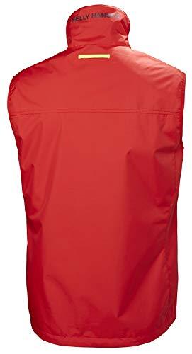 Helly Hansen Crew Vest, Chaleco deportivo para Hombre, Rojo (Rojo 222), Medium