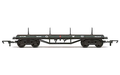 Hornby R6982 GWR, Macaw H Bogie Bolster, 107136 - Era 3 Rolling Stock - Wagon