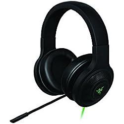 Razer Kraken USB - Cuffie da Gioco USB e Over-Ear con Surround Sound - PC, PS4, Music And Gaming Headset, Nero
