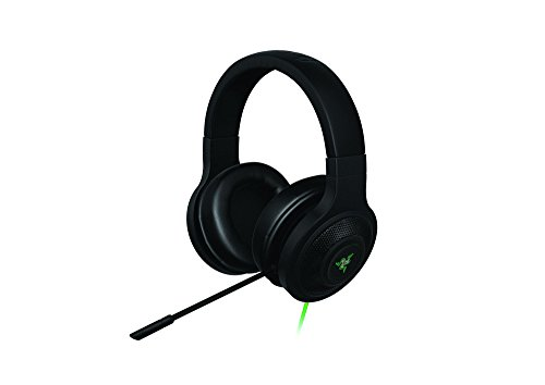 Razer Kraken USB - Cuffie da Gioco USB e Over-Ear con Surround Sound - PC, PS4, Music and Gaming Headset, Nero