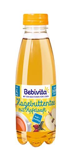 Bebivita Tee & Saft - Hagebuttentee mit Apfelsaft, 6er Pack (6 x 500 ml)
