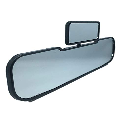 iSpchen Espejos Retrovisores Para Automóvil, Espejo Retrovisor Utv, Espejo Retrovisor Interior Universal 2 En 1 Para Automóvil Espejo Retrovisor Convexo de Gran Angular Para Automóviles, Camiones