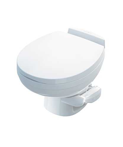 Thetford Aqua Magic Residence RV Toilet - Low Profile - White Color 42170