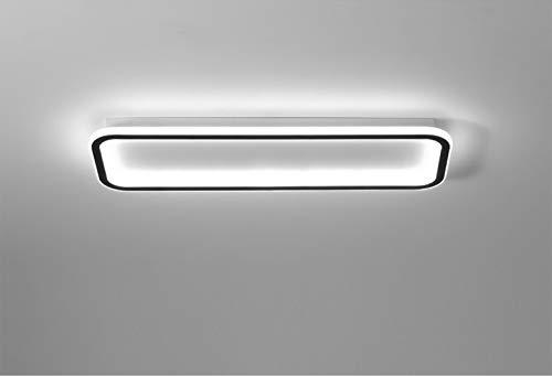 Plafoniera a LED rettangolare moderna minimalista dimmerabile in acrilico per ingresso soggiorno camera da letto cucina ufficio armadio 40X20CM