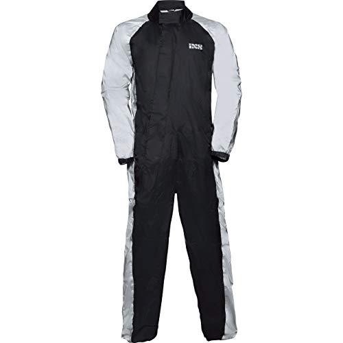 IXS Regenkombi Motorrad Regenbekleidung Regenanzug Orca Reflex Regenkombi schwarz/grau L, Herren, Multipurpose, Ganzjährig, Polyamid