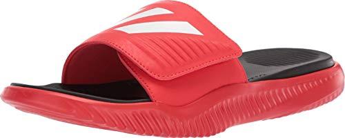 adidas Men's Alphabounce Slide - Active Red/White/Black