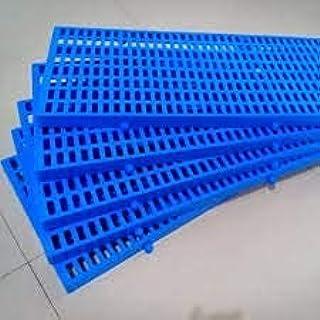 Woofy Pet Plastic Flooring Mat for Dog / Cat / Rabbit / Goat Multipurpose Floor Mat Length 36 Inch, Width 12 Inch (Blue, 2...