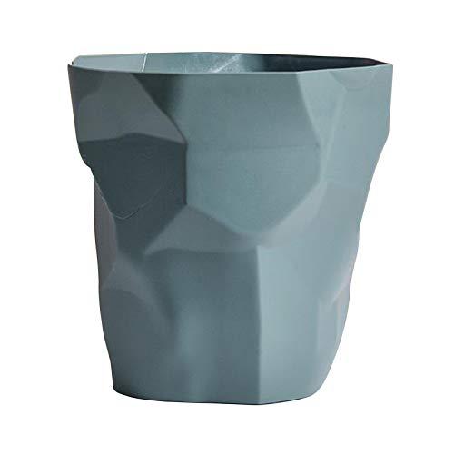Baoblaze Mülleimer Papier Abfall Müll Recycling Papierkorb Ohne Deckel Müll Room Mülleimer Müllabfallbehälter Abfall Bin - Dark Green Big