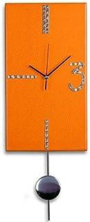 Reloj de Pared moderno, Ideal para cocinas, habitaciones y salones. Incluye péndulo. Fabricación Artesanal en España. Deco...