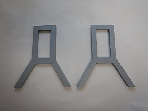 Quality Targets Hardox AR500 - Bear Ear Gong - Armour Steel Plate Unpainted! (1/4', Gong Stand Bracket)