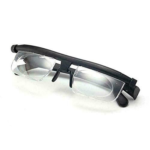 Adlens Glasses - Adjustable Focus Eyeglasses - Variable Focus Instant Prescription – Innovative Power Optics Technology - Great for Reading – For Seniors Women & Men Distributed Americana Made