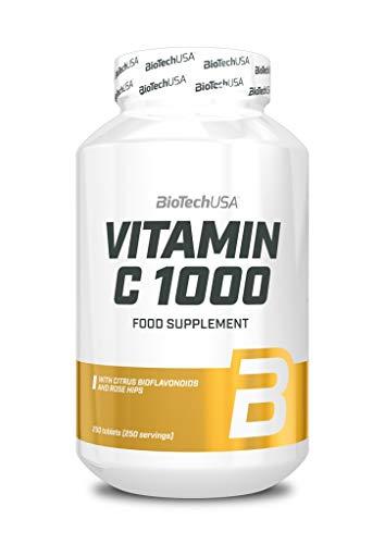 BioTechUSA Vitamin C 1000, 250 Tablets, 510 g