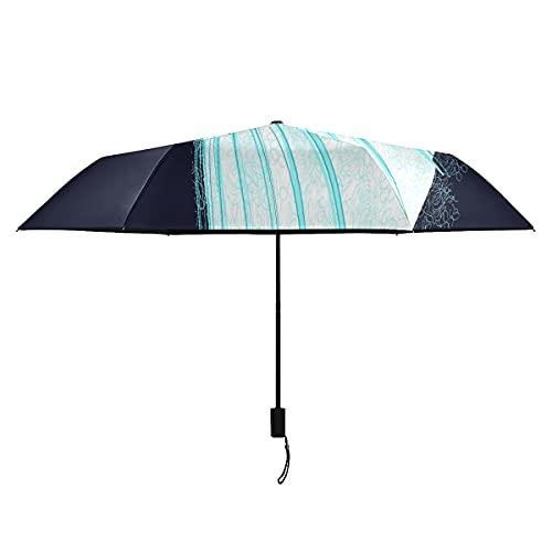Paraguas de viento elegante bailarinas para niñas niños paraguas portátil ligero resistente al viento paraguas de viaje para hombres sol lluvia perfecta paraguas plegable mujer