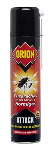 Orion aerosol Insecticida para insectos rastreros Sin olor 400ml